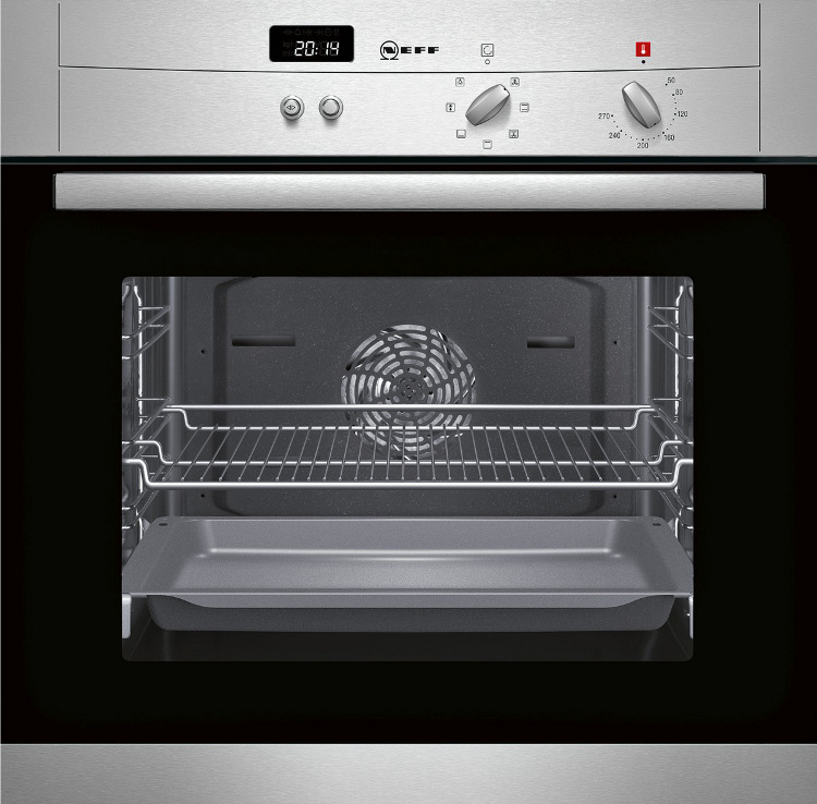 neff single oven stainless steel 13amp plug in euronics exclusive product