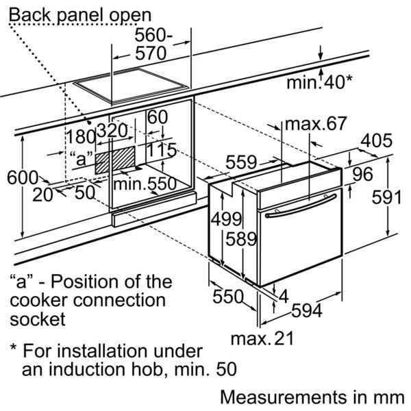 Neff Single Oven Stainless Steel Series 5 Parnter Slide