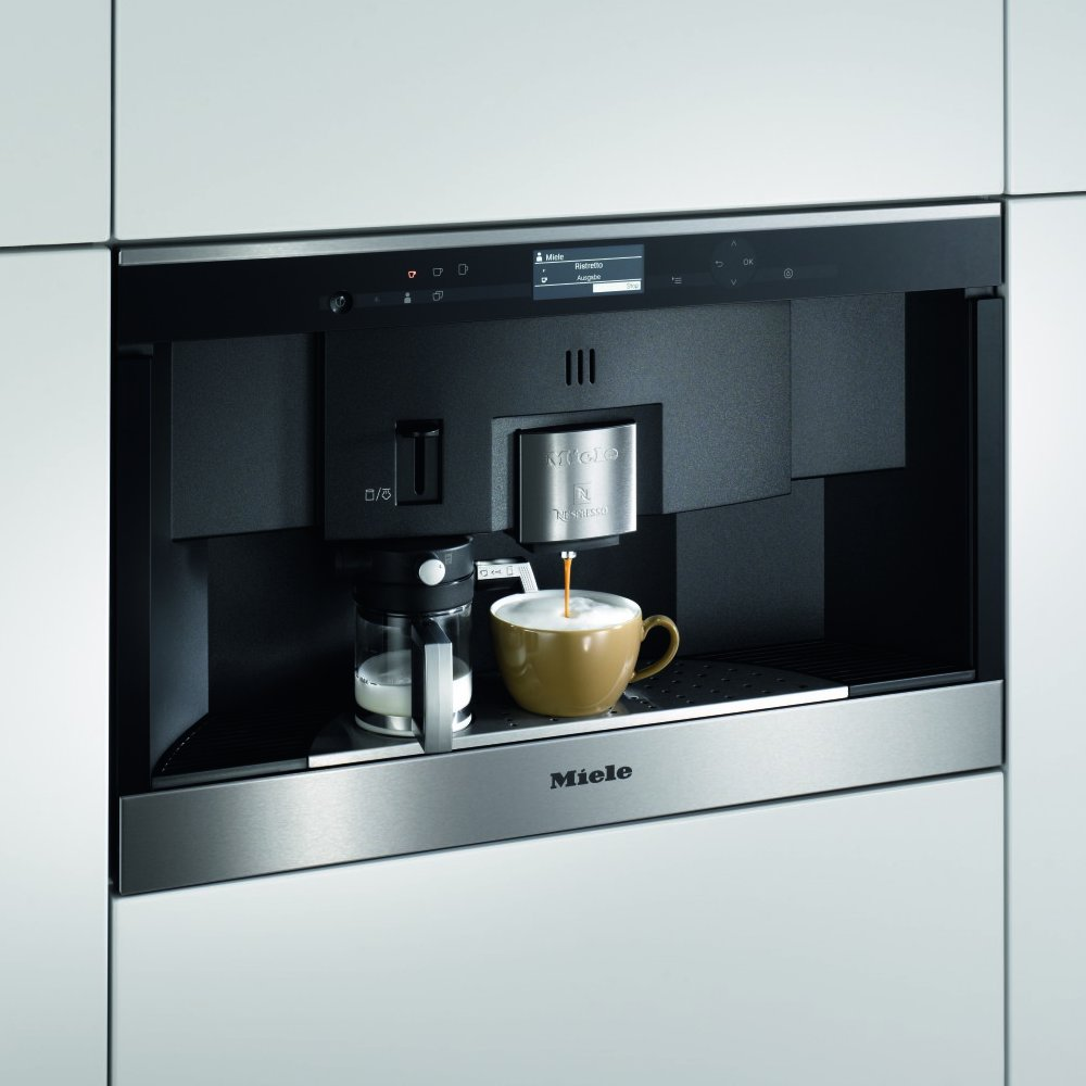 Miele Coffee Machine Contourline Nespresso Clean Steel