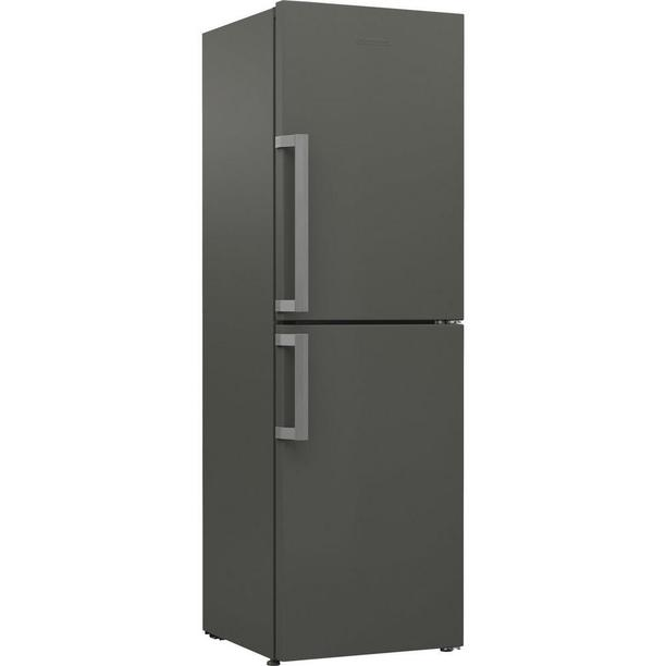 BLOMBERG KGM9681G 60cm Frost Free Fridge-Freezer (GREY)• 201/156