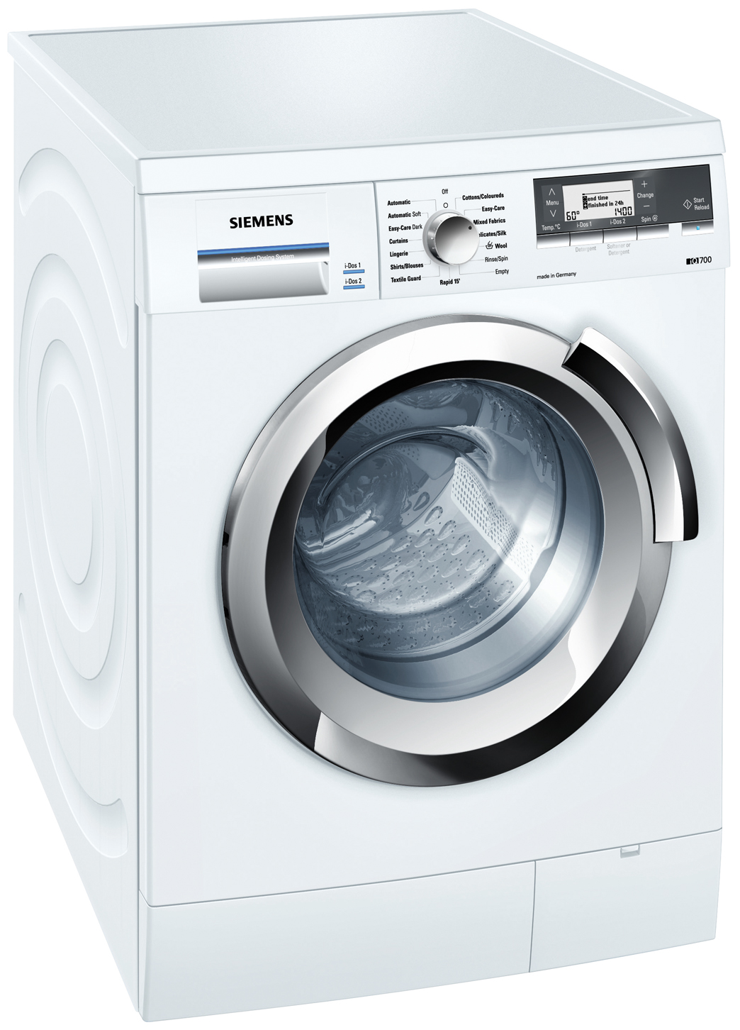 siemens idos washing machine manual