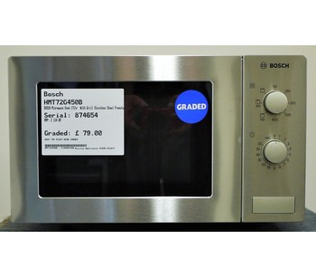 Bosch HMT72G450B Microwaves With Grill - 221024