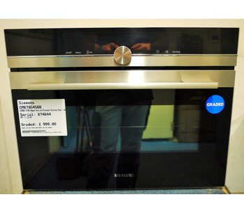 Siemens CM678G4S6B Microwaves Combination - 221014
